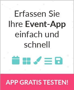 Erfassen Sie Ihre Event-App einfach und schnell