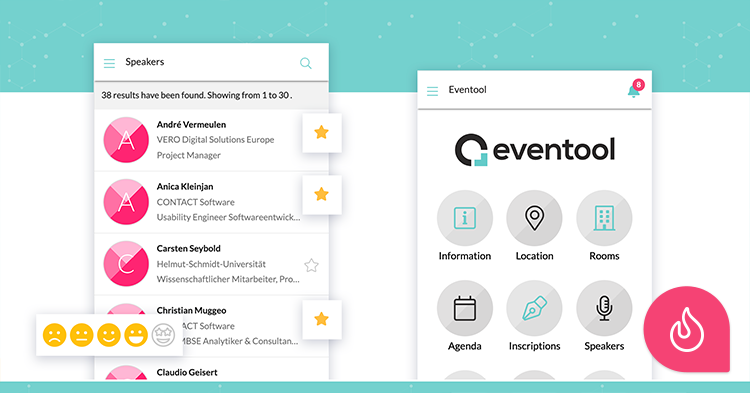 Eventool, mobile application for events