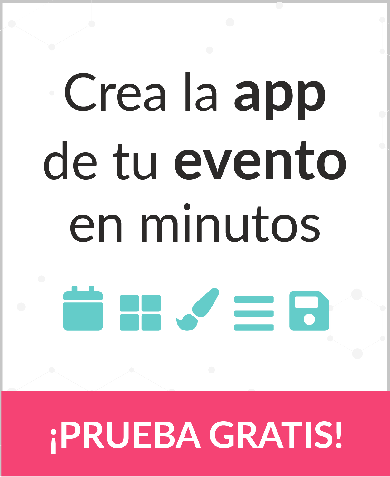 Eventool - Crea la app de tu evento en minutos
