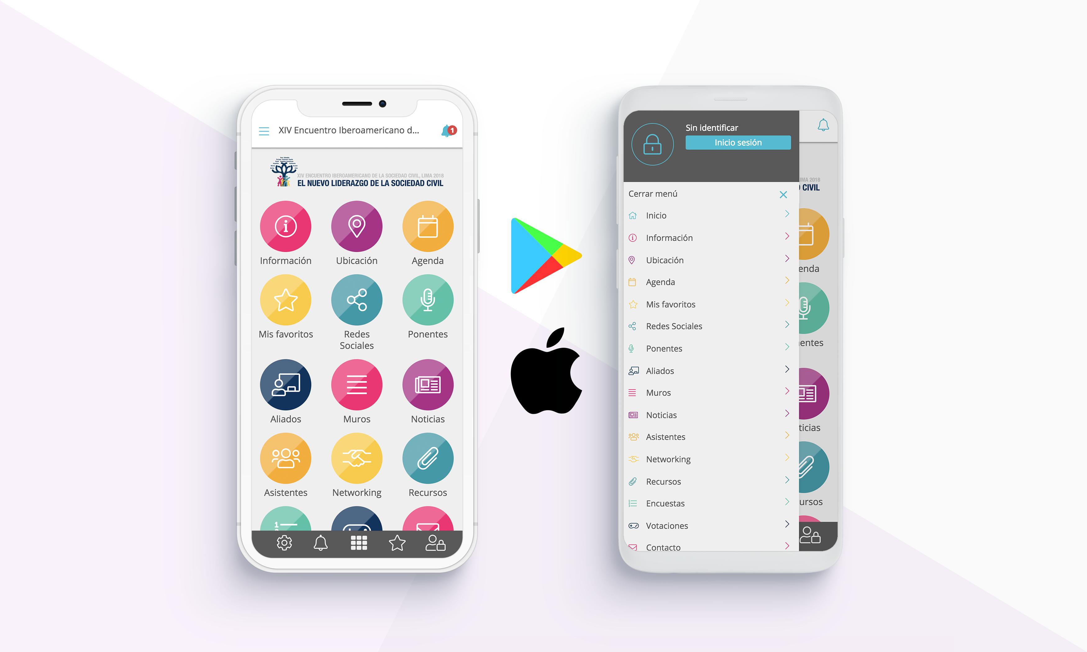 melhor app eventos