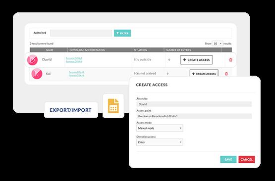 Controle a chegada dos seus convidados. Acompanhe as movimentações através do app de check-in e desde o painel de gestão da Eventool.