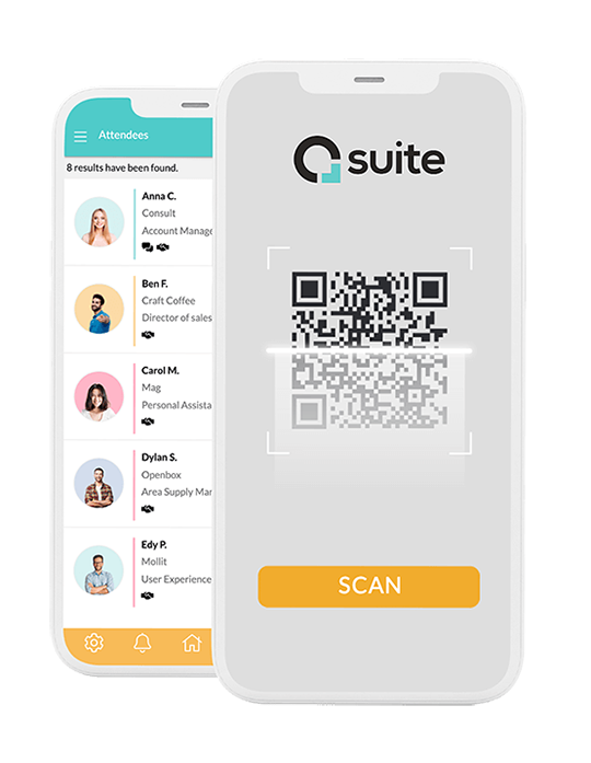 Control the access to your event with QR technology. Download the free Eventool check-in app and scan the accreditations of the participants.