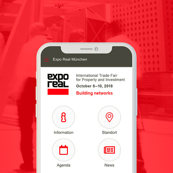 SSN GROUP-APP FÜR EXPO REAL 2018