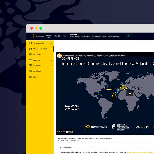Conference International Connectivity and EU-Atlantic  Data Gateway Platform