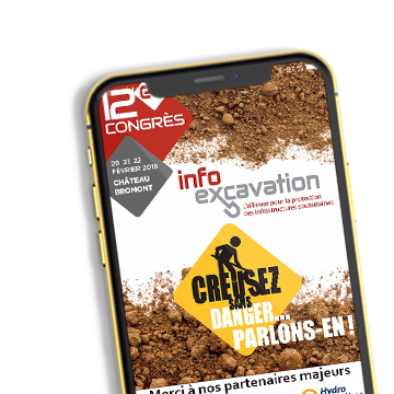 12e congrès annuel Info-Excavation