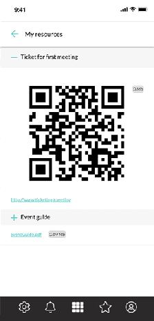 Compartilhe informação no perfil dos usuários