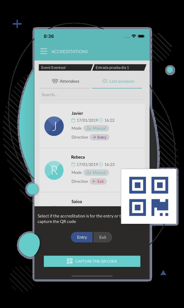 Scegli il tipo di app a prezzi flessibili, personalizza l'immagine e seleziona i moduli del tuo evento. Puoi gestire le informazioni in qualsiasi momento, sarà sempre attualizzata.